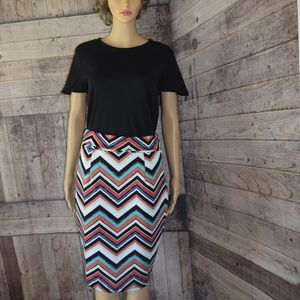 Fun Colorful Size Large Skirt by Love J